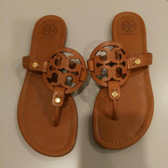 721816cfda6d6a Tory Burch Miller sandals size 6. M 5a02cf71ea3f36197905f5c1