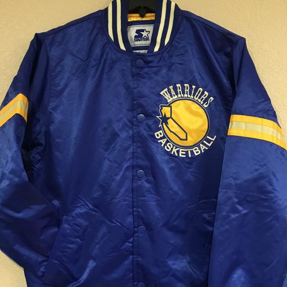 4e2501564a2 STARTER Jackets & Coats   Golden State Warriors Legacy Satin Jacket ...