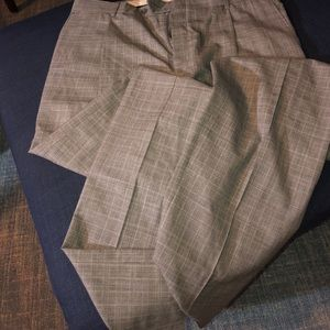 Hart Schaffner Marx Men's Wool Slacks, 36R