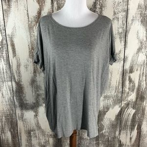 Piko Medium Gray Short Sleeve