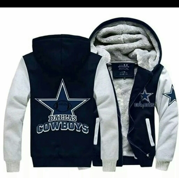 low priced 43d23 94836 Custom Star 3XL Dallas Cowboys Fleece Jacket