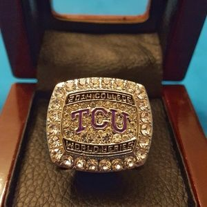 TCU Horn Frogs Fan Edition 2014 Champ Ring Bball