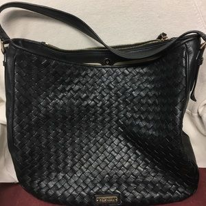 Gently used Cole Haan black purse