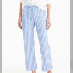 NWOT J.Crew Stripe Pants