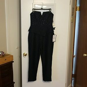 Adrianna Papell Jumpsuit ( midnight/ dark navy)