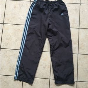 ADIDAS Men's Gray Track Running Pants size M