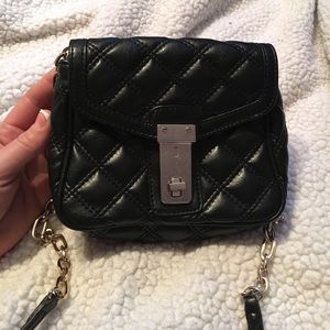 NWOT  Mini Quilted Leather Crossbody