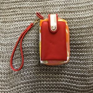 Spartina cellphone holder and wallet