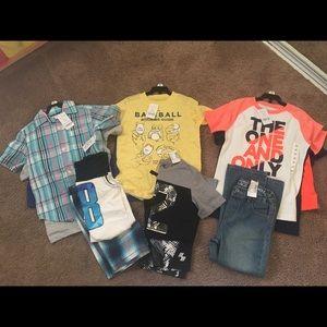 5T NEW Clothes boy lot