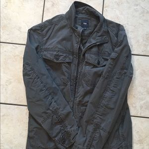 Men's GAP Gray Utility Jacket. Size M. Like new!