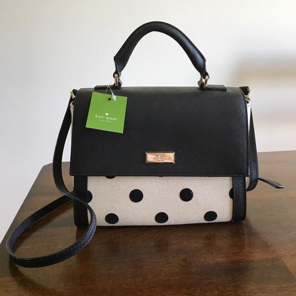 kate spade Handbags - NWT Kate Spade brynlee elsie street fabric bag