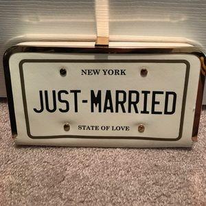 401827a6d5b Aldo Bags | Just Married Clutch Crossbody Purse | Poshmark