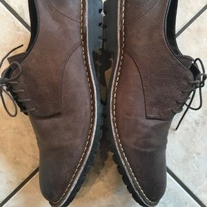 Men's RED TAPE Brown Plain Toe Dress Shoe