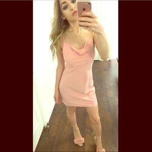 Dresses & Skirts - Pink forever21 mini dress XS