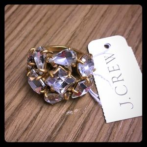 J. Crew cluster ring