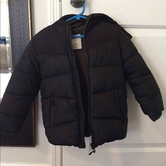 special discount superior performance 2019 real Zara boys puffer coat