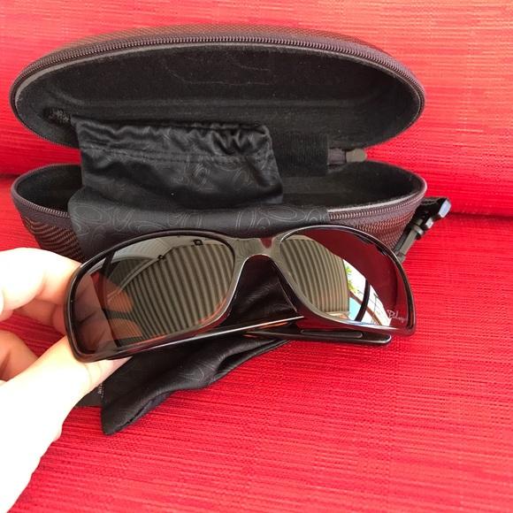 efcba22bbf sweden oakley womens proxy sunglasses matte black 745cf 46f94  cheapest oakley  dispute tortoise brown polarized new e976c c8ad1