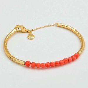 Gorjana Pink Coral Gemstone Bracelet