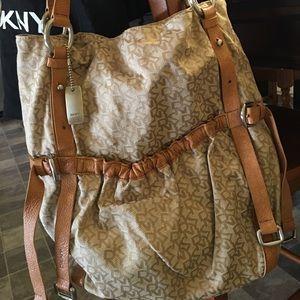 DKNY slouchy shoulder bag