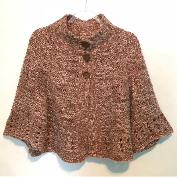 Free People Sweaters 1 Day Sale Chunky Knit Poncho Poshmark