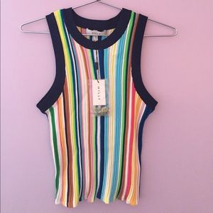 Milly Striped Tank Top NWT!!
