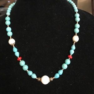 Jewelry - ⬇️🛍🎉Magnesite handcrafted necklace