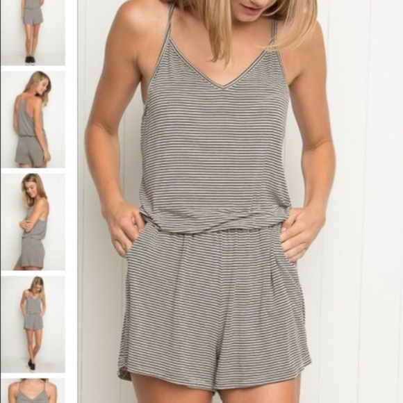 5065c22dd8d Brandy Melville striped romper