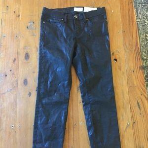All saints black jeans