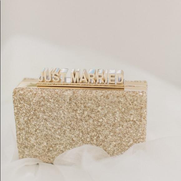 12e52f721e8890 kate spade Handbags - Kate Spade Just Married clutch