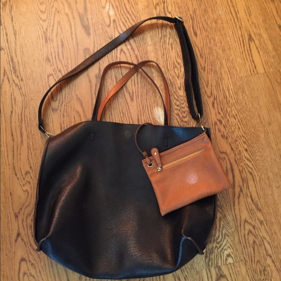 156221fc852f Free People Handbags - Free People large vegan reversible tote