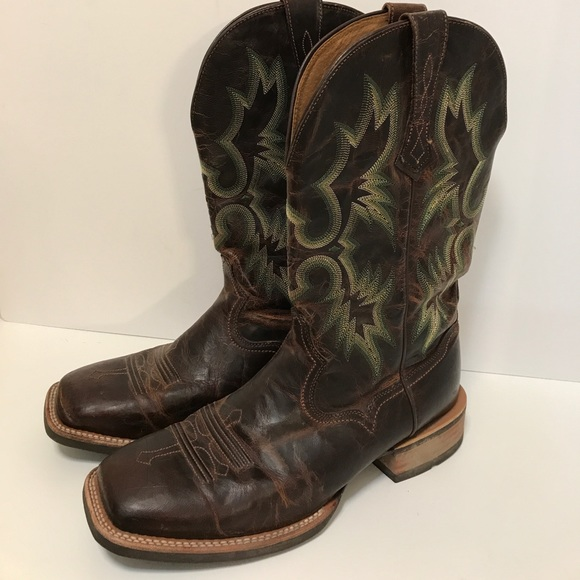 14cd2c61266 Ariat Tombstone Square Toe Western Boot 10.5EE