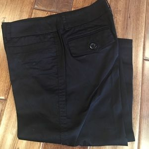 NWOT, Willi Smith solid Black Capris