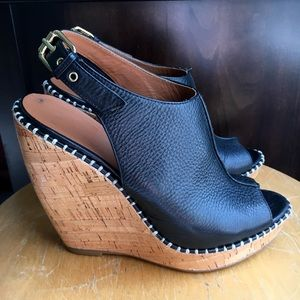 Dolce Vita Pebbled Leather Wedge