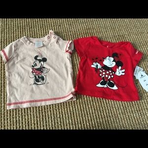 Set of Minnie Mouse tees