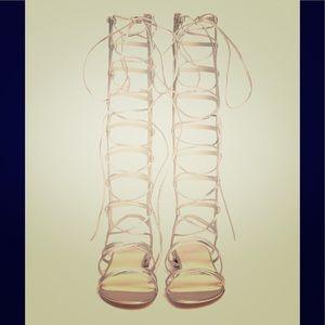 Stuart Weizmann Gladiator sandal