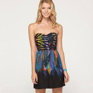 NWT Strapless Roxy Dress