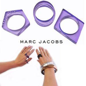 Marc Jacobs Geo Ring Set