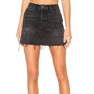 GRLFRND DENIM EVA SKIRT