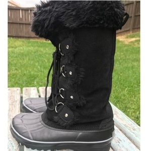d454b2de53f Khombu Shoes - Khombu Nordic Boots Winter Snow Black Lace Up