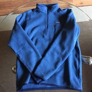 Men's Patagonia 1/4 zip Better Sweater