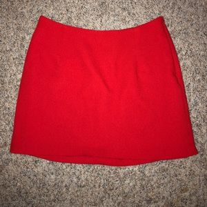Everly red skirt