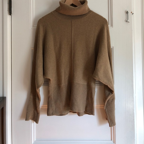 59% off LOFT Sweaters - Camel colored turtleneck sweater - LOFT ...