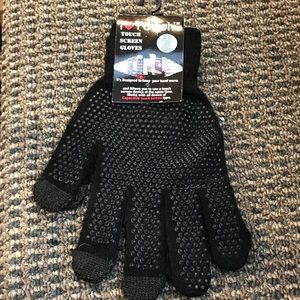 Accessories - NWT touch screen stretch gloves 4 PAIR!!!