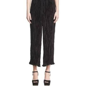 NWT Elizabeth + James Pleated Cropped Pants