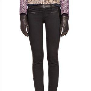 ToryBurch skinny black jean size 25 NWOT