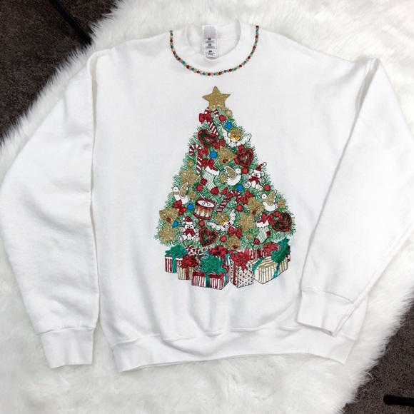 Fruit of the Loom Sweaters - Ugly Christmas sweater