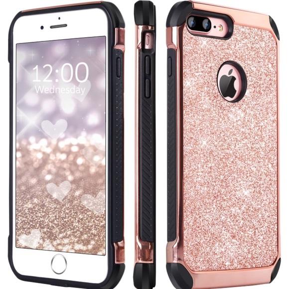 save off 1eddf 600e1 SUPER CUTE IPHONE 7S PLUS CASE! Pink glitter case NWT