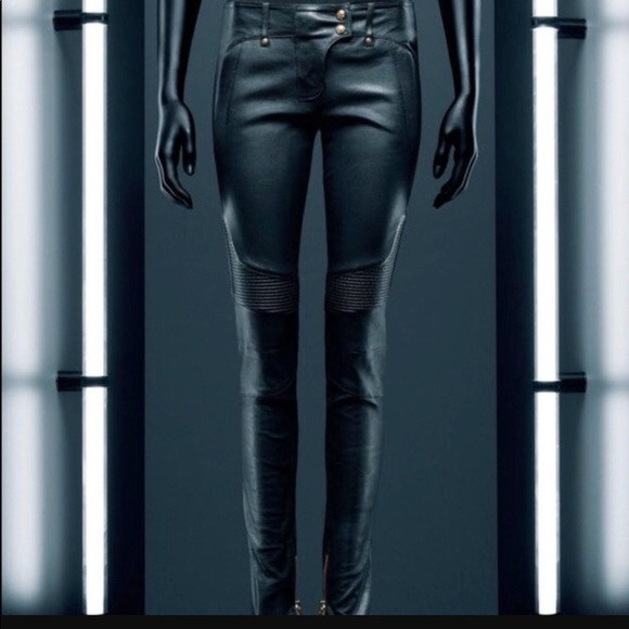 bf261298 Balmain Pants - SALE Balmain H&M leather pants ...