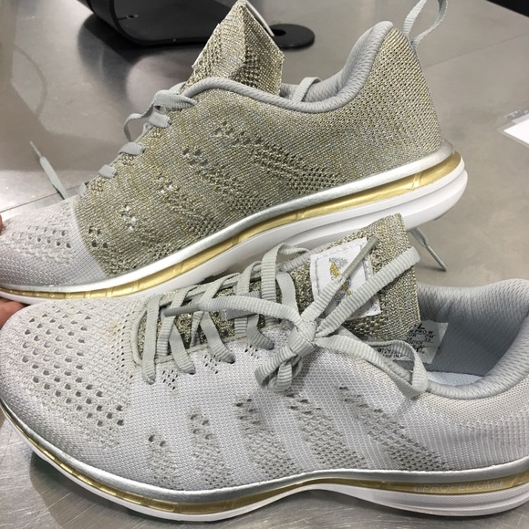 Silver And Gold Apl Sneaker Bandier
