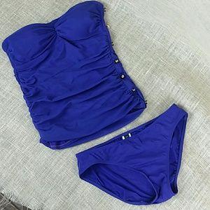 Lauren Ralph Lauren 2 Piece Swim Suit Tankini